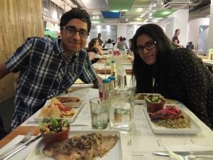 Omar and Anu