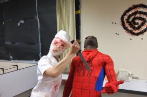 Poor Spider man
