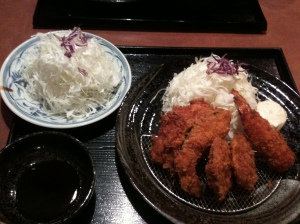 Katsu dinner